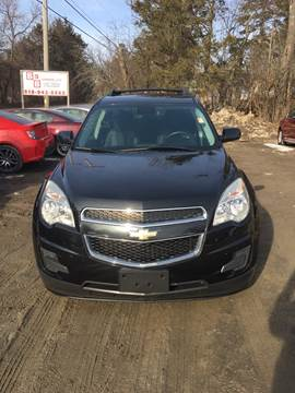 2012 Chevrolet Equinox for sale at B & B GARAGE LLC in Catskill NY
