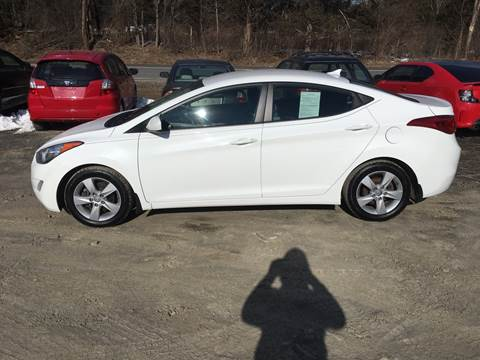 2013 Hyundai Elantra for sale at B & B GARAGE LLC in Catskill NY