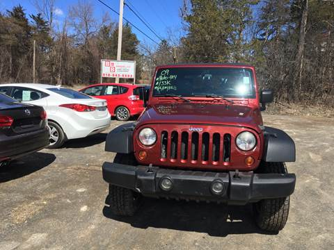 2009 Jeep Wrangler Unlimited for sale at B & B GARAGE LLC in Catskill NY