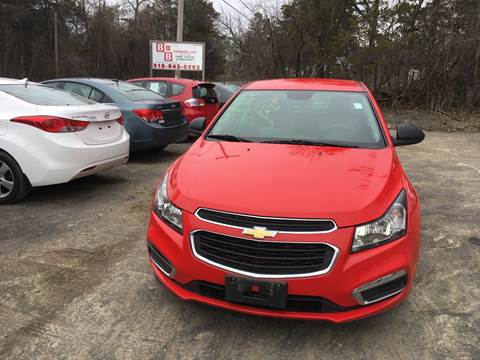 2016 Chevrolet Cruze Limited for sale at B & B GARAGE LLC in Catskill NY