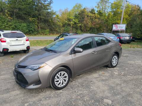 2019 Toyota Corolla for sale at B & B GARAGE LLC in Catskill NY