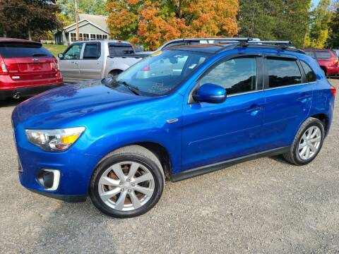 2015 Mitsubishi Outlander Sport for sale at B & B GARAGE LLC in Catskill NY