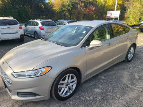 2015 Ford Fusion for sale at B & B GARAGE LLC in Catskill NY