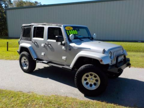 2007 Jeep Wrangler Unlimited for sale in Richmond Hill, GA