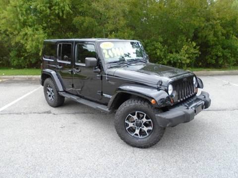 2012 Jeep Wrangler Unlimited for sale in Richmond Hill, GA