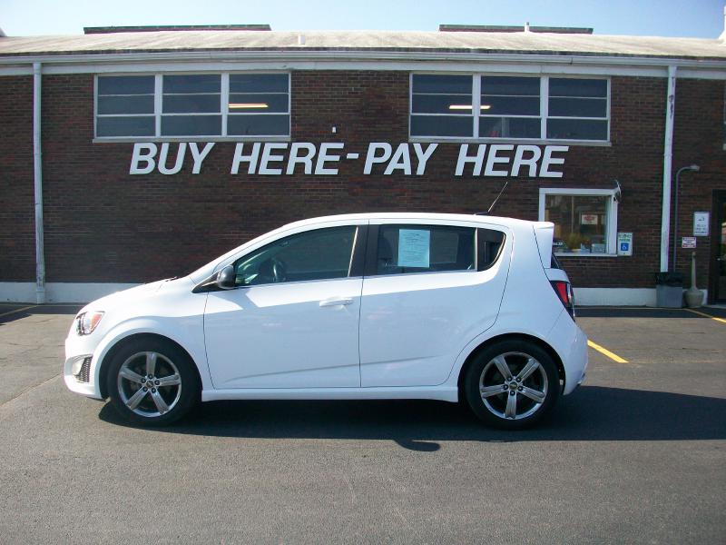 2013 Chevrolet Sonic RS Manual 4dr Hatchback - Milan IL