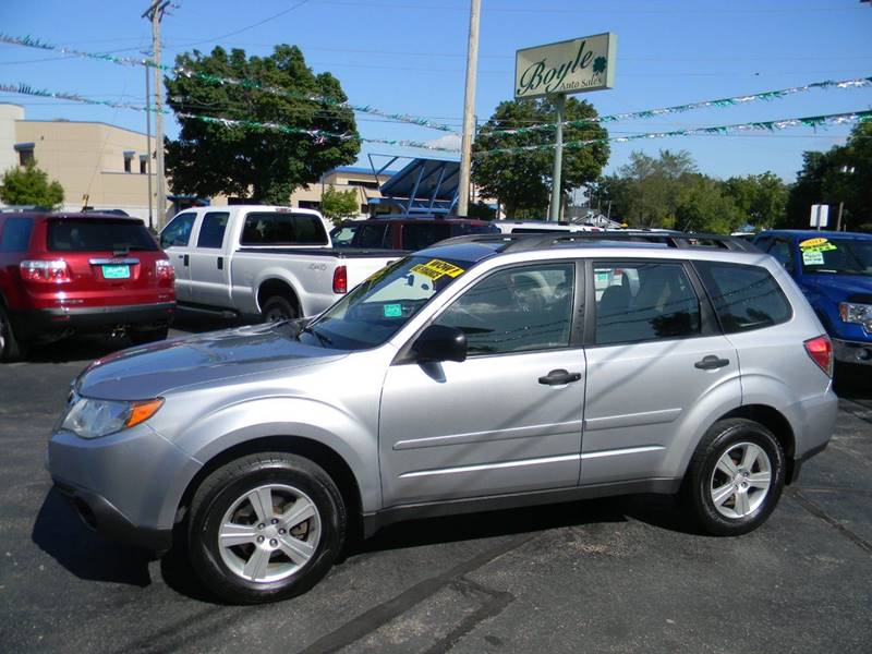 2013 Subaru Forester for sale at Boyle Auto Sales in Appleton WI