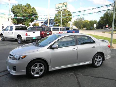 2013 Toyota Corolla for sale at Boyle Auto Sales in Appleton WI