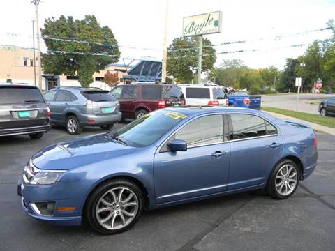 2010 Ford Fusion for sale at Boyle Auto Sales in Appleton WI