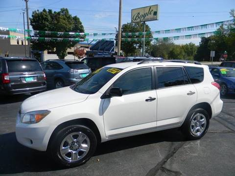 2008 Toyota RAV4 for sale at Boyle Auto Sales in Appleton WI