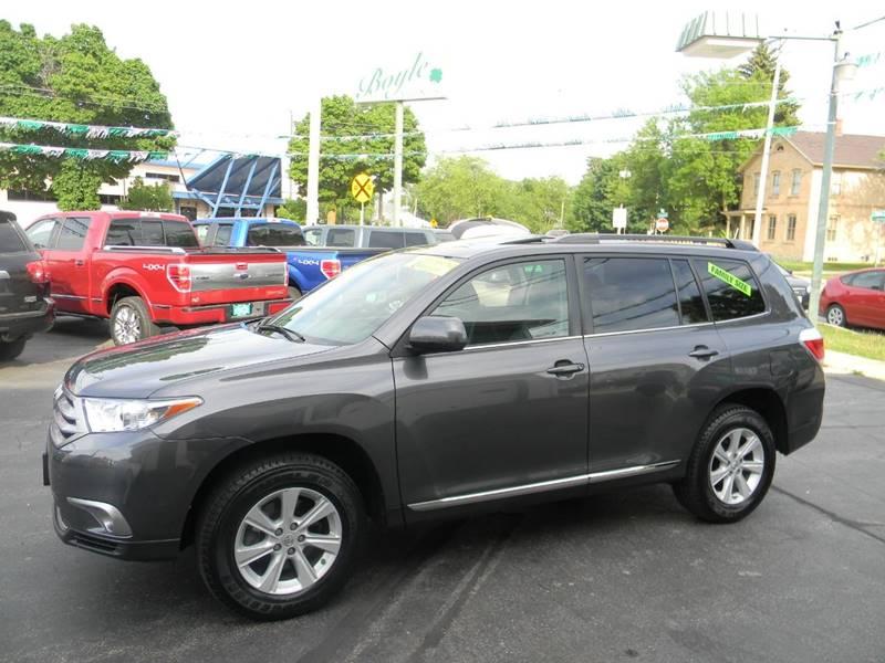2012 Toyota Highlander For Sale >> 2012 Toyota Highlander Se In Appleton Wi Boyle Auto Sales