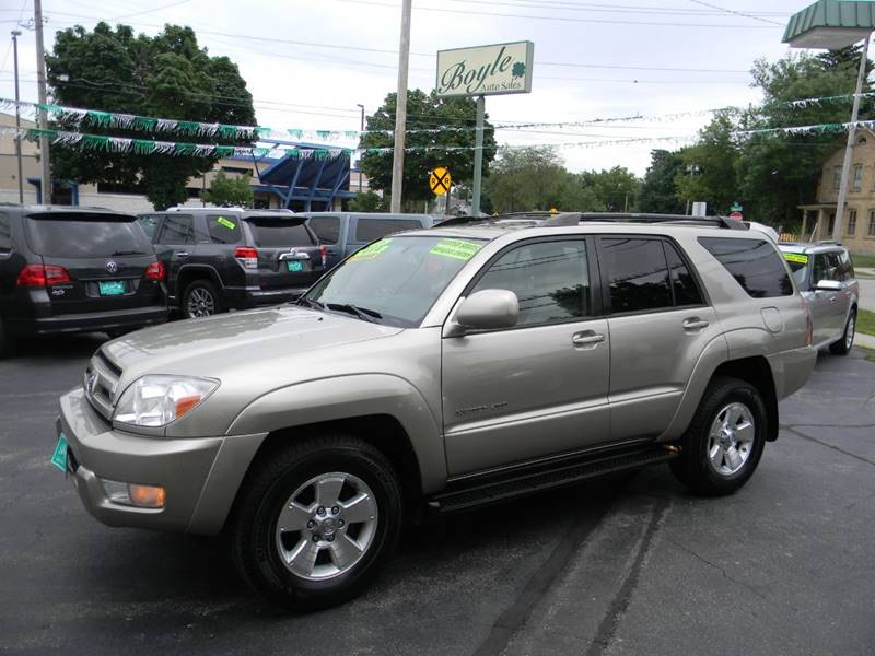 2005 toyota 4runner limited in appleton wi boyle auto sales. Black Bedroom Furniture Sets. Home Design Ideas