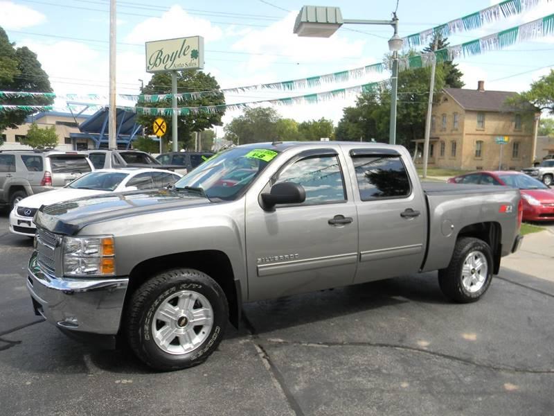 2013 Silverado For Sale >> 2013 Chevrolet Silverado 1500 Lt In Appleton Wi Boyle Auto Sales
