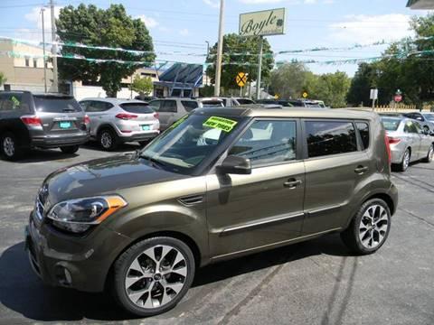 2012 Kia Soul for sale at Boyle Auto Sales in Appleton WI