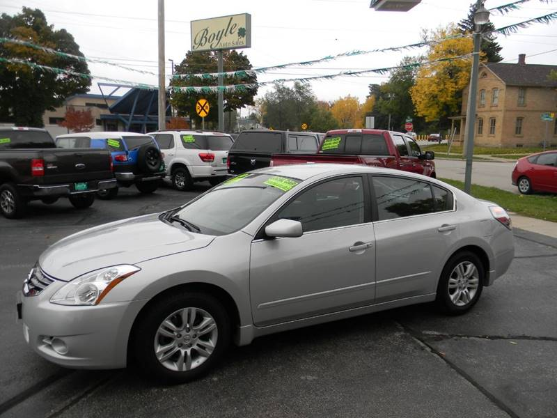 2012 Nissan Altima For Sale At Boyle Auto Sales In Appleton WI