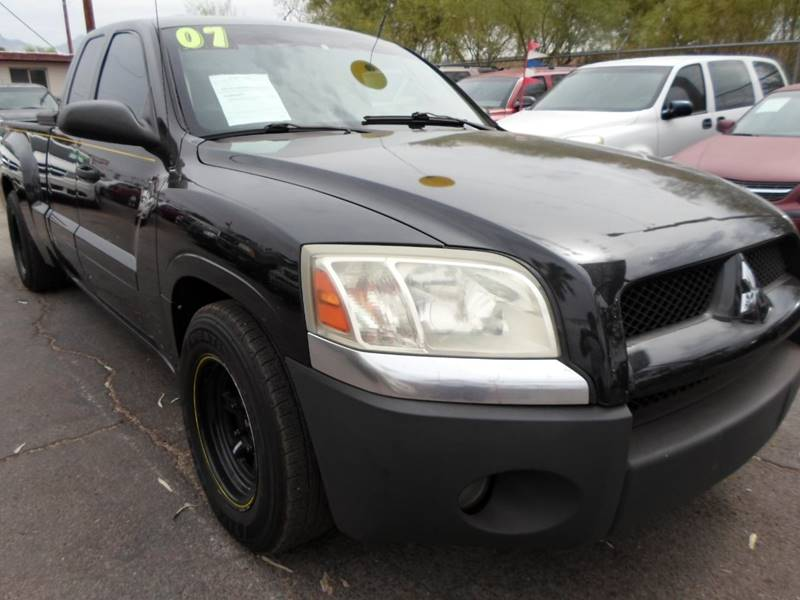 2007 Mitsubishi Raider Ls 4dr Extended Cab Sb In Tucson Az Pars