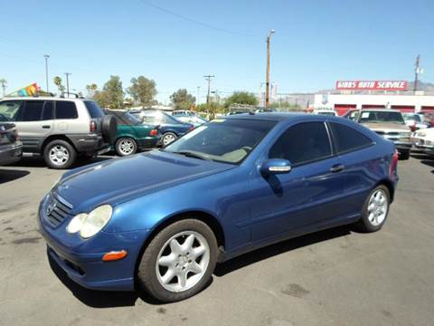 2003 Mercedes-Benz C-Class for sale at PARS AUTO SALES in Tucson AZ
