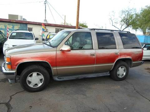 1999 Chevrolet Tahoe for sale at PARS AUTO SALES in Tucson AZ
