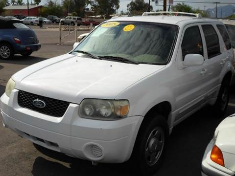 2005 ford escape for sale in tucson az. Black Bedroom Furniture Sets. Home Design Ideas