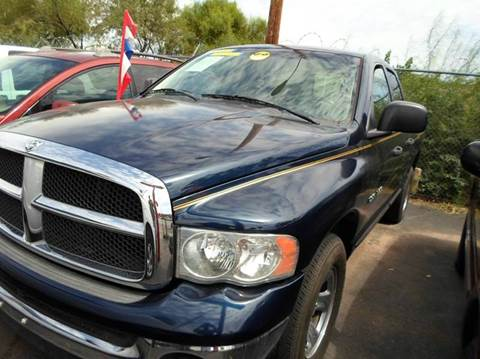 2005 Dodge Ram Pickup 1500 for sale at PARS AUTO SALES in Tucson AZ