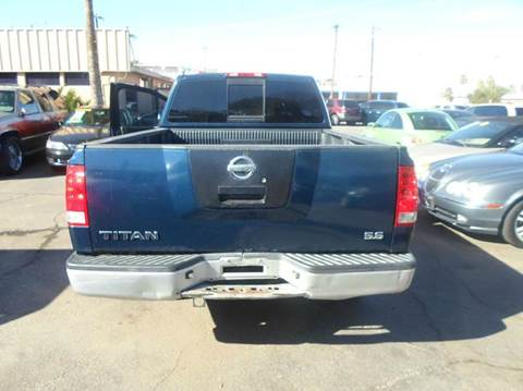 2007 Nissan Titan for sale at PARS AUTO SALES in Tucson AZ
