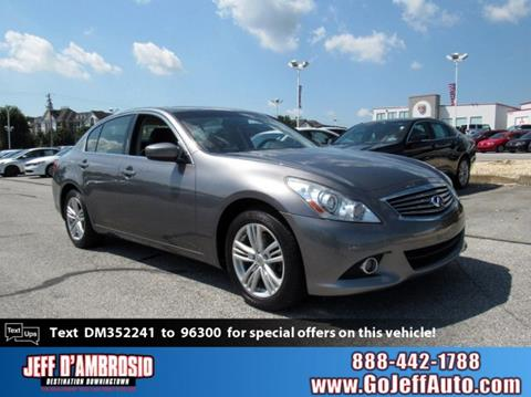 Infiniti Cars For Sale >> Infiniti Cars Financing For Sale Downingtown Jeff D Ambrosio