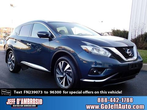 2015 Nissan Murano for sale in Downingtown, PA