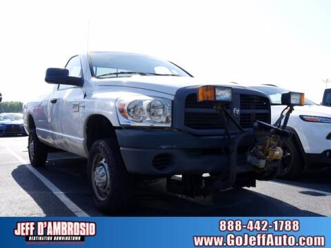 2009 Dodge Ram Pickup 2500 for sale at Jeff D'Ambrosio Auto Group in Downingtown PA