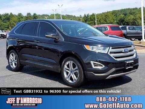 2016 Ford Edge for sale at Jeff D'Ambrosio Auto Group in Downingtown PA