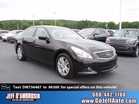 2013 Infiniti G37 Sedan for sale at Jeff D'Ambrosio Auto Group in Downingtown PA