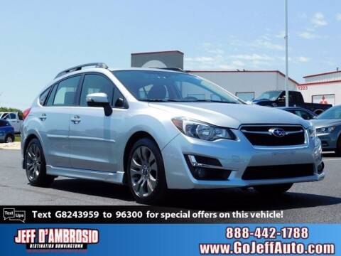 2016 Subaru Impreza for sale at Jeff D'Ambrosio Auto Group in Downingtown PA