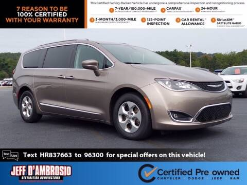 2017 Chrysler Pacifica for sale at Jeff D'Ambrosio Auto Group in Downingtown PA