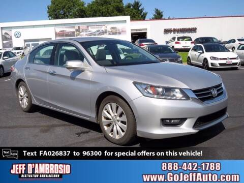 2015 Honda Accord for sale at Jeff D'Ambrosio Auto Group in Downingtown PA