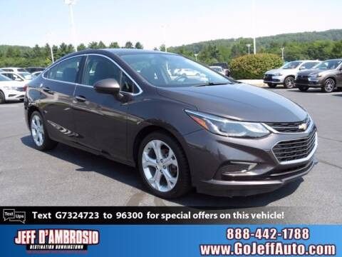 2016 Chevrolet Cruze for sale at Jeff D'Ambrosio Auto Group in Downingtown PA