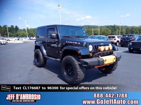 2012 Jeep Wrangler for sale at Jeff D'Ambrosio Auto Group in Downingtown PA