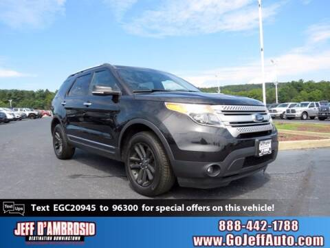2014 Ford Explorer for sale at Jeff D'Ambrosio Auto Group in Downingtown PA