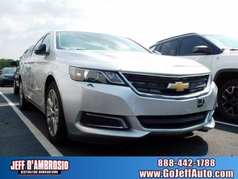 2015 Chevrolet Impala for sale at Jeff D'Ambrosio Auto Group in Downingtown PA