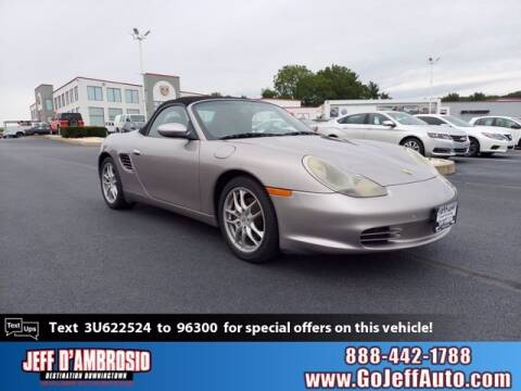 2003 Porsche Boxster for sale at Jeff D'Ambrosio Auto Group in Downingtown PA