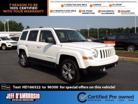 2017 Jeep Patriot for sale at Jeff D'Ambrosio Auto Group in Downingtown PA