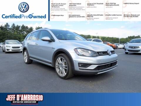 2017 Volkswagen Golf Alltrack for sale at Jeff D'Ambrosio Auto Group in Downingtown PA