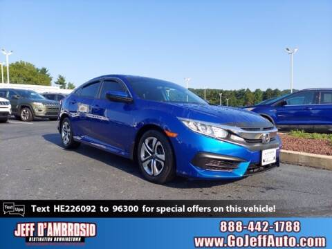 2017 Honda Civic for sale at Jeff D'Ambrosio Auto Group in Downingtown PA
