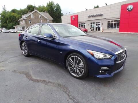 2017 Infiniti Q50 for sale at Jeff D'Ambrosio Auto Group in Downingtown PA