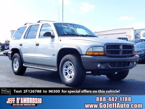 2002 Dodge Durango for sale at Jeff D'Ambrosio Auto Group in Downingtown PA