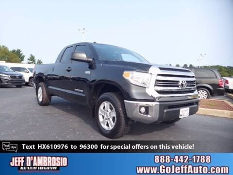2017 Toyota Tundra for sale at Jeff D'Ambrosio Auto Group in Downingtown PA