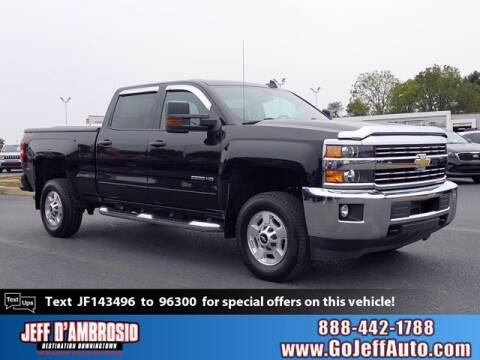 2018 Chevrolet Silverado 2500HD for sale at Jeff D'Ambrosio Auto Group in Downingtown PA