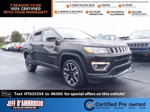 2017 Jeep Compass for sale at Jeff D'Ambrosio Auto Group in Downingtown PA