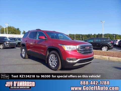 2019 GMC Acadia for sale at Jeff D'Ambrosio Auto Group in Downingtown PA