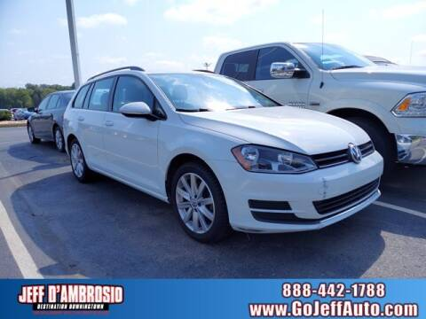 2015 Volkswagen Golf SportWagen for sale at Jeff D'Ambrosio Auto Group in Downingtown PA