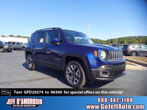 2016 Jeep Renegade for sale at Jeff D'Ambrosio Auto Group in Downingtown PA