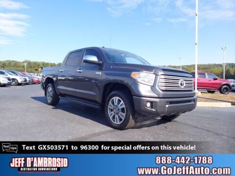 2016 Toyota Tundra for sale at Jeff D'Ambrosio Auto Group in Downingtown PA